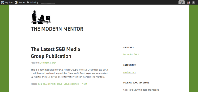 The Modern Mentor   An SGB Media Group Publication.png