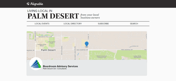 boardroom-advisory-services-in-palm-desert-ca-promotions-local-recommendations-alignable