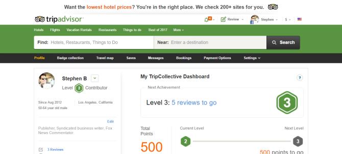 Stephen B Member Reviews TripAdvisor